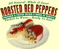 Premium Whole & Sweet Roasted Red Peppers