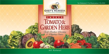 smoked tomato & garden herb gourmet dressings / dipping sauces